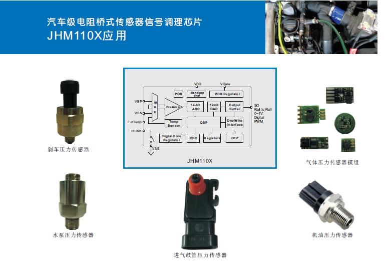 传感器|信号调理芯片|集成电路设计|芯片